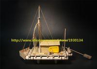 atlantic boats - Scale wooden boat model kit ATLANTIC KON TIKI wooden model
