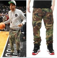 big camo clothing - 29 hip hop mens big and tall trousers Jay z kanye camouflage cargo pants fashion free planet factory connection clothing camo