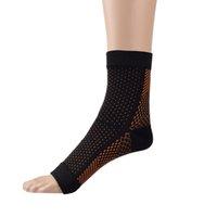 ankle veins - Polka dots socks ankle socks with high elastic compression sport socks prevent varicose veins breathable