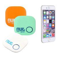 Wholesale 1pcs Nut Smart Tag Intelligent Bluetooth Anti lost Tracking Child Pouch Pet Wallet Key Finder GPS Locator Alarm Finder