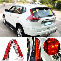 Wholesale Car Styling LED Tail Lamp Rear Light Brake Lamp For Nissan X trail Xtrail Column Back Fog Light Driving Light
