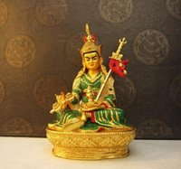 Budismo tibetano, Padmasambhava, la pintura de la Lotus-nacido, la estatua de Buda, figura, ornamentos ~