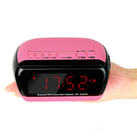 android radio app - Digital Bluetooth Speaker Dual Alarm Clock FM Radio With Sleep Timer Android APP Control Y4367