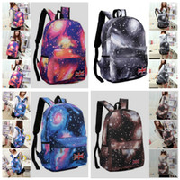 Wholesale 2016 Korean version Galaxy School fashion casual canvas Shoulder Backpacks Girl Boy Travel Rucksack Laptop Bag
