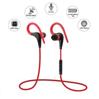 Wholesale Sport Bluetooth Headset Wireless Earphones In Ear Auriculares Handsfree with Mic Portable Mini Earbuds Earpiece For Smartphone