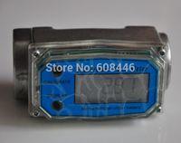 Wholesale New Electronic Fuel Meter Gear Flow Meter Fuel Diesel Gasoline Kerosene PSI Fast shipping
