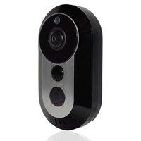 audio door bell - Wifi Door Bell Video Audio Wireless Waterproof Doorbell Rf Bell Receiver with Two way Audio Recording Talk Snapshot Motion Detection