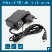 Wholesale Power Adapter V A Micro USB Charger for inch tablet pc