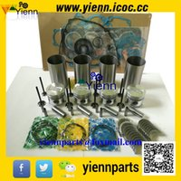 Wholesale Mitsubishi S4L S4L2 overhual repair kit with piston liner piston ring cylinder head gasket valve main conrod bearing