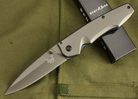 Wholesale Benchmade DA11 survival folding knife Sharp blade Steel handle tactical knife Outdoor camping hiking Pocket knives