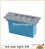 Wholesale YON Waterproof led stair light W lm underground path light lamp outdoor led aluminum AC85 V energy saving