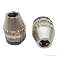 Wholesale Keyless Drill Bit Chuck Quick Change Adapter Converter M8X0 Mini Drill Chucks H210448