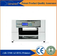 best color inkjet - top selling equipment dtg t shirt printing machine best t shirt printer price for AR T500 dtg printer