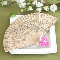 beach wedding giveaways - Sandalwood Fans Party Favors Birthday Gifts Beach Theme Wedding Giveaways Party Table Decoration