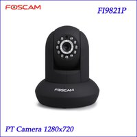 Wholesale Foscam FI9821P V2 P2P P HD Pan Tilt Wired Wireless IP Camera H CCTV IR Wifi Camera