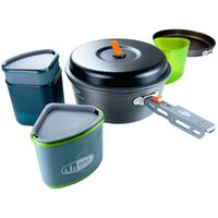 Wholesale GSI Outdoors of Pinnacle Backpacker Cookware Set outdoor people Set pot cook lunch box the cooking pot Water cup