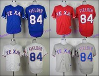 texas rangers - Prince Fielder Jersey Cool Base Texas Rangers Jerseys White Blue Grey Red