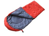 Wholesale 100pcs New Outdoor Camping Summer Camping Sleeping Bag Lunch g Envelope Hooded Sleeping Bag Manufacturers Build jy553