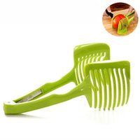 Wholesale 1 Multifunctional Fruit Vegetable Tools Tomato Slicer Onion Cutter Stand Mold Kitchen Accessories Cooking Tools