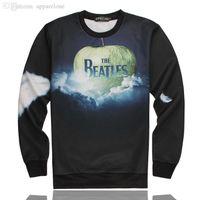 beatles shirt men - Hoodies Men d Sweatshirts The Beatles Shirts Long Sleeve Hip Hop Hoodie Sportswear Iswag Sportswear Hba Sweatshirt Streetwear