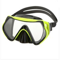 Wholesale New High Quality Hot Sale Tempered Dive Snorkeling Scuba Face Mask Swimming For True Hero Easy Breath Snorkel Mask A