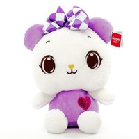 bear license - To classic card brand aoger licensed plush toy bear love dream sitting doll cute adorable pet cm