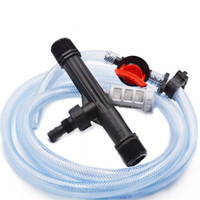 Wholesale New Arrival inch Irrigation Venturi Fertilizer Kit Mixer Injectors Water Tube Ozone Mixer Hot Tub SPA with Switch Filter