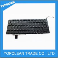 Wholesale 17 quot A1297 French Keyboard For Macbook Pro A1297 FR France French Keyboard High Quality Perfect Working