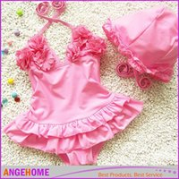 Cheap One-piece Kid Baby Girls swimwear Best Girl Children's Day One-piece Bathing Swimwear