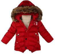 Wholesale 2016 Winter Jackets for Boys Parka Childen Down Jackets Boy Coats Warm Kids Baby Thick Cotton Down Jacket Cold Winter