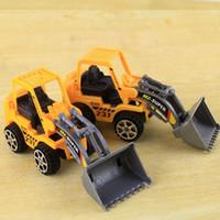 Wholesale Bulldozer Truck Engineering Car Building Blocks Brick Toy Model Figure Gifts Boy A00018 FAD