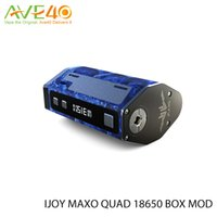 battery link - Ijoy Maxo Quad w box mod use Battery Chip Designed by Iwepal Original Matching Ijoy Combo VS Wismec RX200S Blue link