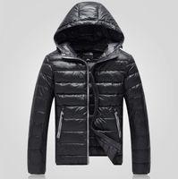 Wholesale ON SALE new arrive winter fashion casual slim Men s down coat men s Outerwear light down jacke black