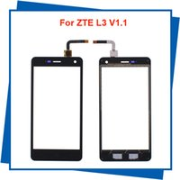Wholesale For ZTE L3 V1 Mobile Phone Panel Screen Digitizer Assembly Free Tools