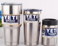 insulation - Yeti oz oz oz oz Rambler Tumbler Bilayer Insulation Cups Cars Beer Mug Large Capacity Mug Tumblerful Car Cups