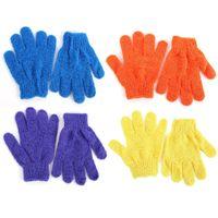 Wholesale x Shower Bath Glove Exfoliating Wash Skin Spa Massage Scrub Body Scrubber Glove