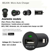 belkin adapter usb - Universal V A usb car charger adapter for Mobile phones iphone s s samsung galaxy S4 I9500 S3 I9300 for belkin