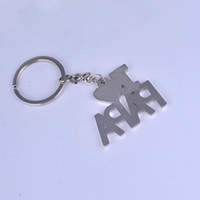 Metal Heart Zinc Alloy New ''I love my father ''''I love my mother'' letter key chain Father's Day Mother's Day gifts
