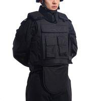 armor equipment - High Grade Tactical Vest Body Armor Kevlar Bulletproof Vest NIJ IIIA Military Combat Ballistic Vest Safety Equipment ME0007