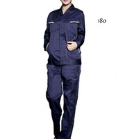 Wholesale Webetop Unisex Long Sleeve Polyester Material Workwear Suits
