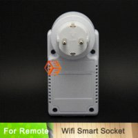 automation device - 2015 Real Interruptor New Wireless Remote Control Switch Plug Socket Wifi Smart Automation Device Security Timing