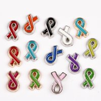 Wholesale 20pcs Ribbon Floating Charms for Origami owl floating locket charms