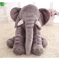 baby safe pillow - inches Elephant Pillow Plus Animals Toys Lovely Short Plush Dolls Baby Safe High Quality Toys Newest
