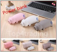 Wholesale Cute cartoon pig mAh Power Bank compact convenient high capacity enough to recharge your