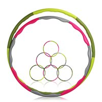 Wholesale cm Diameter Hula Hoop Adult Athlete Fitness Massage Slimming Hula Hoop Thin Waist Loose Weight PVC Material