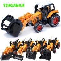 al por mayor juguetes de agricultores-Vehículo de juguete 1:55 aleación de Utilidad Los agricultores del modelo de carro Tire hacia atrás Juguetes para niños 15 * 6 * 5.5cm