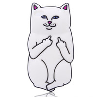 silicone finger cover - 3D silicone case Middle finger cat for iphone plus Soft silicone Cell Phone Accessories J1ACE G530 S5 Mobile Phone Cover iphone G