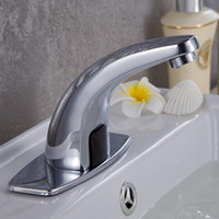 Wholesale New single cold water induction faucet kitchen single cold water faucet plumbing hardware faucet