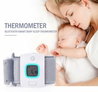 Wholesale Children iFever Smart Bluetooth Thermometer Wearable Electronic Thermometer Temperature Alarm Smart Baby Monitor Household Thermometer