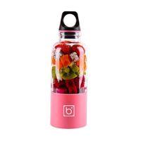Wholesale BINGO Multifunction Portable Mini USB Juicer Fruit Vegetable Rechargeable Juicer Blender Squeezer Drink Bottle Smoothie Maker Camping mA